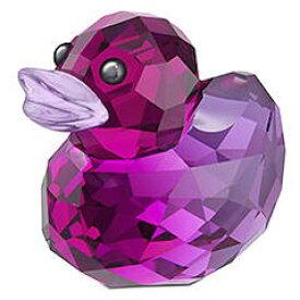 スワロフスキー Swarovski ハッピーダック ラバブル リラ Duck Lovable Lila 1041292 □