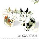 スワロフスキー 2010年 限定 ラブロッツ カントリー モー 2匹セット 1056681 Swarovski Country Mo □