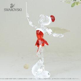 スワロフスキー  ディズニー クリスマス ティンカーベル 2012年限定作品 サンタクロース 1143621 Swarovski Christmas Tinker Bell□
