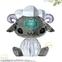 スワロフスキーラブロッツ十二支シープ羊SwarovskiLovlotsZodiacMeMeTheSheep5004521□