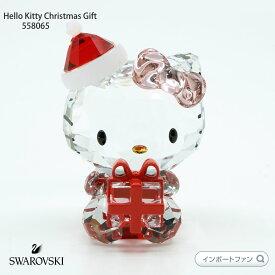スワロフスキー ハローキティ サンタ クリスマス ギフト 5058065 Swarovski Hello Kitty Christmas Gift□