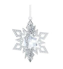 スワロフスキー クリスマスオーナメント スター シルバー 5135808 Swarovski Christmas Ornament Star, Silver Tone□