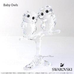 スワロフスキーフクロウの赤ちゃん5249263SwarovskiBabyOwls□