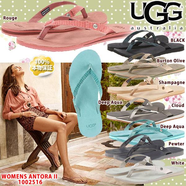 *UGG アグ ALLY II アリー II レザー ビーチサンダル 1002516 日本未発売 UGG正規輸入品 □