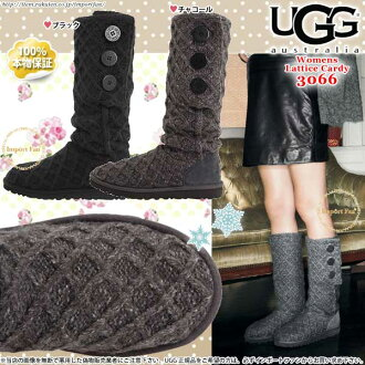 1391e5f58ed *UGG アグ regular article lattice kazi knit boots 3066 1016557 LATTICE CARDY □
