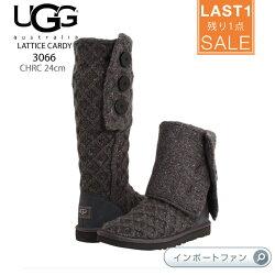 *UGGアグ正規品◆LATTICECARDYラティスカーディーニットブーツ3066□