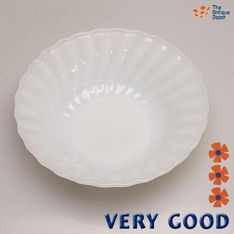 *ファイヤーキング・ホワイト シェル・シリアルボウル 【VERY GOOD】【あす楽対応】 □