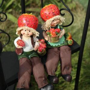 置物 かわいい インテリア 雑貨 おしゃれ 人形 ギフト リビング 玄関 オーナメント オブジェ 可愛い ガーデニング アクセント おもしろ雑貨 癒し 人気 果物 セット 輸入雑貨 ラッピング無料