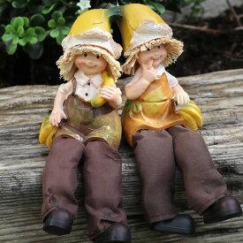 置物 かわいい 妖精 インテリア 癒し オーナメント 雑貨 オブジェ 人気 ギフト ミニ 果物 装飾 セット 北欧 人形 おしゃれ 子供 庭 通販 輸入雑貨 ガーデニング