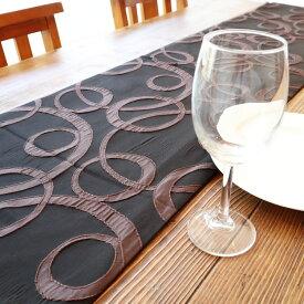 テーブルランナー おしゃれ テーブルクロス 真ん中 敷き物 布 長い和 モダン ブラウン 茶 テーブル装飾 インテリア雑貨 テーブルコーディネート ギフト おもてなし 和柄 ダイニング テーブルセンター プレゼント