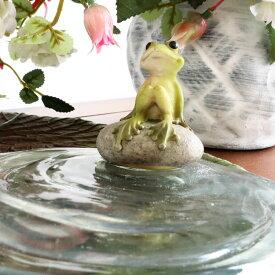 カエル 置物 かえる グッズ 玄関 雑貨 風水 オブジェ アンティーク調 かわいい 輸入雑貨 プレゼント ラッピング おすすめ ギフト 人気 リビング 置物 プレゼント