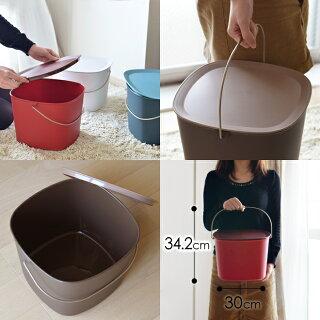 【収納ボックス/バケツ】tidy(ティディ)Bucketバケットバケツ収納ケースおもちゃ箱小物入れフタ付きごみ箱