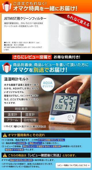 大容量超音波加湿器JETMISTジェットミスト4L加湿機BOE030BRUNOブルーノ抗菌除菌