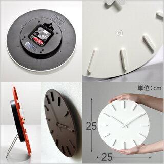 【壁掛け時計】±0(プラスマイナスゼロ)ウォールクロックZZC-X020壁掛け時計置き時計スイープ時計インテリアグッドデザイン賞