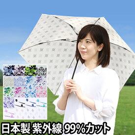 折りたたみ傘 プレミアムホワイト 日傘 折り畳み傘 晴雨兼用 UVカット 紫外線カット 99%以上 白い日傘 雨傘 軽い 軽量 日本製 親骨50cm 超軽量 UVION めざましテレビ イマドキ!