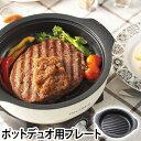 グリル鍋 recolte(レコルト) ポットデュオ専用オプションパーツ 単品販売 ステーキプレート 焼き 鉄板 RPD-SP
