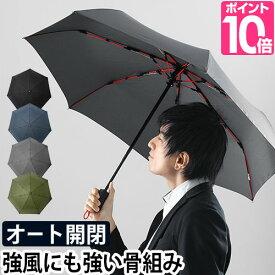 折りたたみ傘 自動開閉 高強度折りたたみ傘 ストレングスミニAUTO mabu マブ グラスファイバー 丈夫 大きい