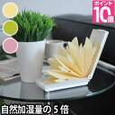 エコ加湿器 自然加湿の約5倍 日本製 電気不要 気化式加湿器 卓上 オフィス 紙 ペーパー エコロジー おしゃれ ミスティ…