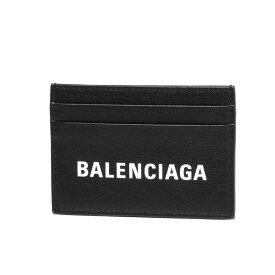 バレンシアガ BALENCIAGA カードケース メンズ 505054 DLQHN 1060 EVERYDAY エブリデイ NOIR/L BLANC ブラック