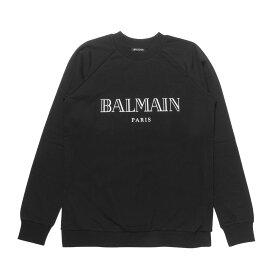 バルマン BALMAIN スウェット レディース 146908 I767 C5101 長袖スウェット NERO+BIA ブラック