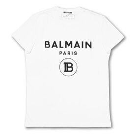 バルマン BALMAIN Tシャツ メンズ SH01601I192 0FA 半袖Tシャツ BLAN ホワイト