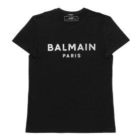 バルマン BALMAIN Tシャツ メンズ TH01601I307 EAB 半袖Tシャツ NOIR ブラック