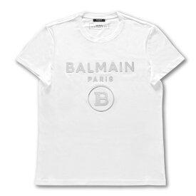 バルマン BALMAIN Tシャツ メンズ TH11601I231 0FA 半袖Tシャツ BLAN ホワイト
