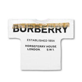 バーバリー BURBERRY Tシャツ キッズ ガールズ 8009123 半袖Tシャツ HORSEFERRY ホースフェリー WHITE ホワイト 6A-14A