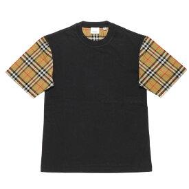 バーバリー BURBERRY Tシャツ レディース 8014895 半袖Tシャツ BLACK ブラック