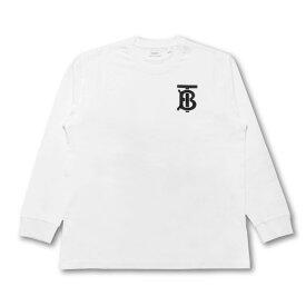 バーバリー BURBERRY Tシャツ レディース 8024341 長袖Tシャツ WHITE ホワイト