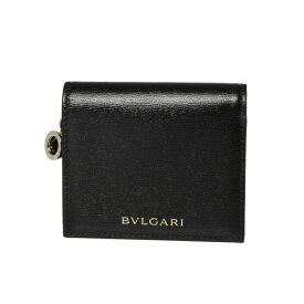 ブルガリ BVLGARI 財布 レディース 288240 三つ折り財布 BZERO1 ビーゼロワン BLACK/BLACK/LIGHT GOLD ブラック