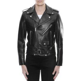 セリーヌ CELINE ジャケット メンズ 2E158599E 38NO レザージャケット BLACK ブラック