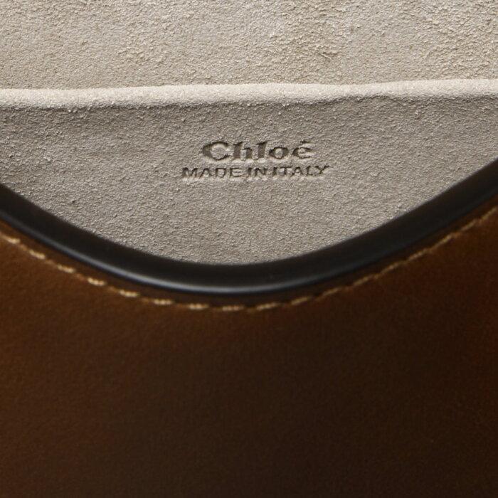 クロエCHLOEバッグレディースC17US301HEU247ショルダー付ハンドバッグスモールNILEナイルCARAMELブラウン