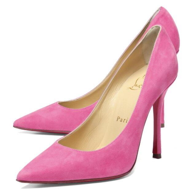 クリスチャン ルブタン Christian Louboutin シューズ レディース 3170006 P144 ポインテッドトゥ パンプス DECOLTISH デコルティッシュ DARLING ピンク