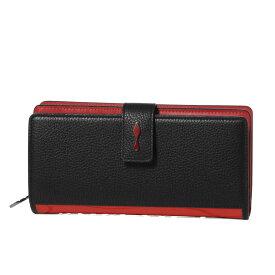 クリスチャン ルブタン Christian Louboutin 財布 レディース 3195086 H358 二つ折り長財布 PALOMA パロマ BLACK/LOUBI ブラック