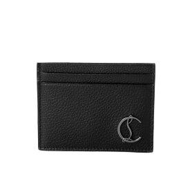 クリスチャン ルブタン Christian Louboutin カードケース メンズ 3195195 B078 KIOS キオス BLACK/GUN METAL ブラック