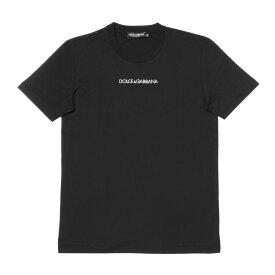 ドルチェアンドガッバーナ DOLCE&GABBANA Tシャツ メンズ G8JM4Z FU7EQ N0000 半袖Tシャツ BLACK ブラック