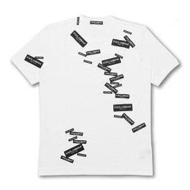 ドルチェアンドガッバーナ DOLCE&GABBANA Tシャツ メンズ G8IV0Z G7RJM W0800 半袖Tシャツ WHITE ホワイト