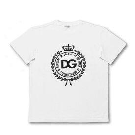 ドルチェアンドガッバーナ DOLCE&GABBANA Tシャツ キッズ ボーイズ L4JT7N G7RIF W0800 半袖Tシャツ WHITE ホワイト 6A-12A