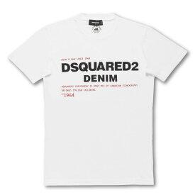 ディースクエアード DSQUARED 2 Tシャツ メンズ S74GD0729 S21600 100 半袖Tシャツ WHITE ホワイト