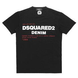 ディースクエアード DSQUARED 2 Tシャツ メンズ S74GD0729 S21600 900 半袖Tシャツ BLACK ブラック