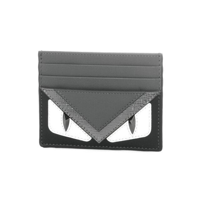 フェンディ FENDI カードケース メンズ 7M0164 8FJ F06HP ASFAL+G グレー