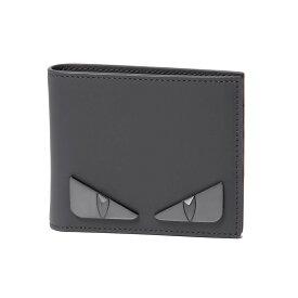 2ec271e3792d フェンディ FENDI 財布 メンズ 7M0169 SQP F1386 二つ折り財布 BAG BUGS バッグ バグズ ASFALTO+