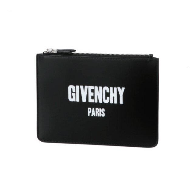ジバンシー GIVENCHY バッグ メンズ BK06071562 001 クラッチバッグ ミディアム NOIR ブラック