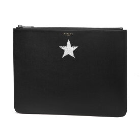 ジバンシー GIVENCHY バッグ メンズ BK600JK0C7 001 クラッチバッグ ラージ BLURRED STAR ブラード スター BLACK ブラック