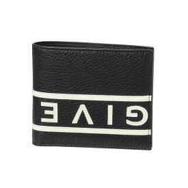 ジバンシー GIVENCHY 財布 メンズ BK6005K093 004 二つ折り財布 BLACK/WHITE ブラック