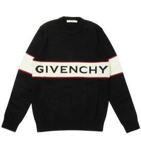 ジバンシー GIVENCHY ニット メンズ BM900G400M 001 長袖ニット BLACK ブラック