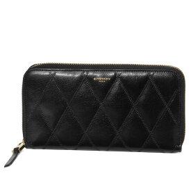 ジバンシー GIVENCHY 財布 レディース BB608NB08Z 001 ラウンドファスナー長財布 GV3 ジーブイスリー BLACK ブラック