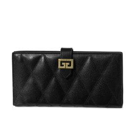 ジバンシー GIVENCHY 財布 レディース BB6094B08Z 001 二つ折り長財布 GV3 ジーブイスリー BLACK ブラック