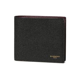 ジバンシー GIVENCHY 財布 メンズ BK602DK0UF 001 二つ折り財布 BLACK ブラック